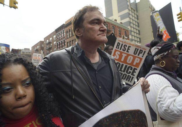 Quentin Tarantino : pourquoi la police appelle au boycott de ses films ?