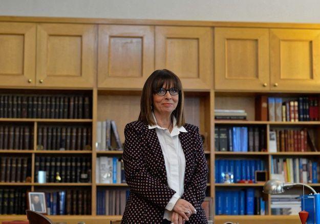 Qui est Ekaterini Sakellaropoulou, la première femme élue présidente en Grèce ?