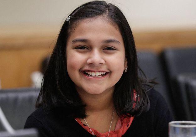 Qui est Gitanjali Rao, élue « enfant de l'année » par le Time ?