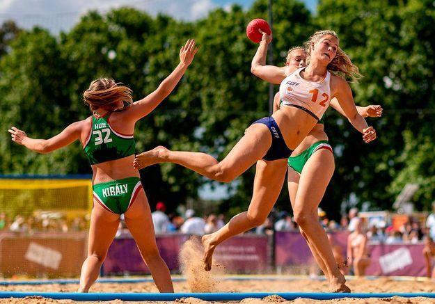 Refus du bikini : les handballeuses norvégiennes punies pour avoir joué en short