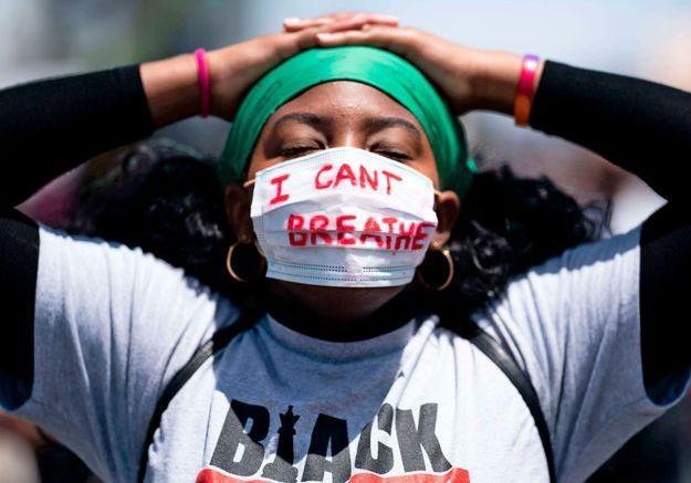 Reportage au cœur d'une manifestation « Black Lives Matter » à Los Angeles