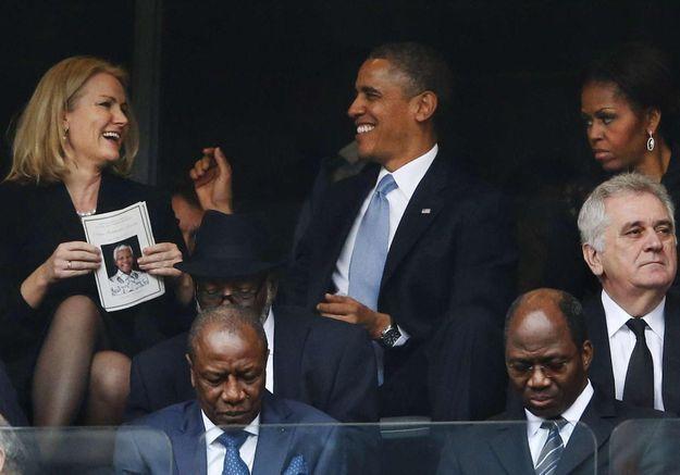 Selfie avec Obama : la Première ministre danoise se défend