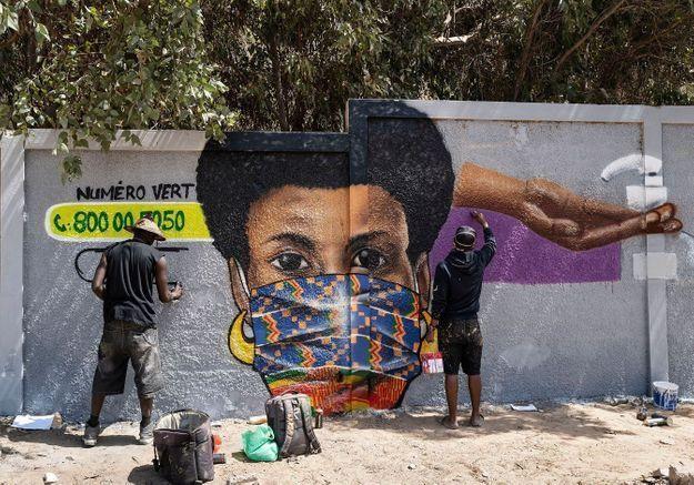 Sénégal : le masque ou la vie