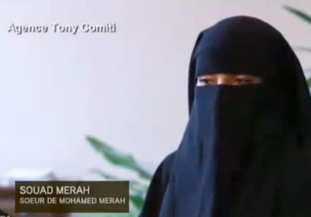 Souad, la sœur de Mohammed Merah, en garde à vue depuis lundi