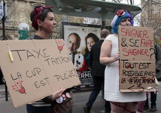 Taxe tampon : vers une réduction ?