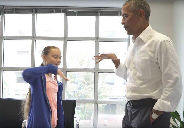 « Toi et moi, on forme une équipe » : les mots enthousiasmants de Barack Obama à Greta Thunberg