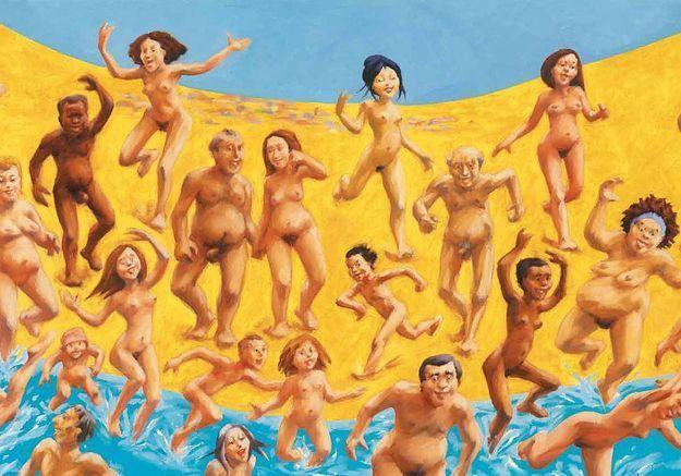 « Tous à poil » : les internautes se moquent de Copé