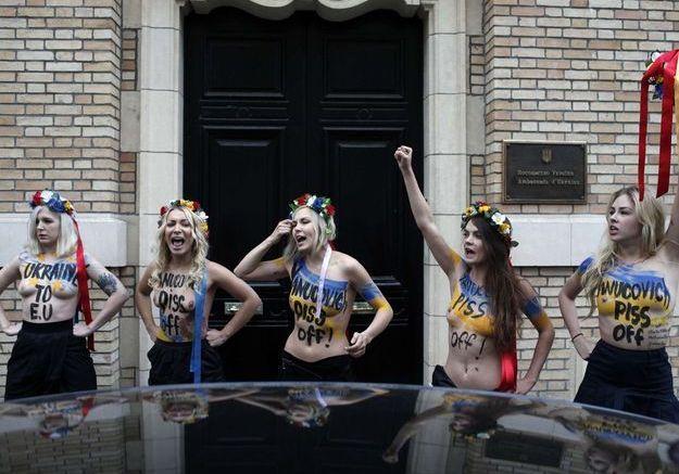 Ukraine : Inna Shevchenko soutient la « révolution »