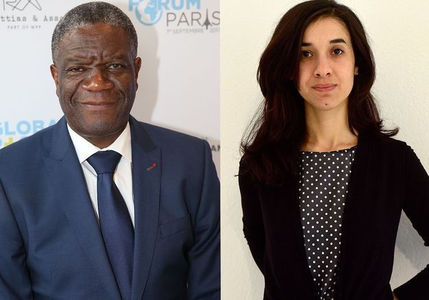 Une ancienne esclave sexuelle et le gynéco qui « répare » les femmes Prix Nobel de la paix
