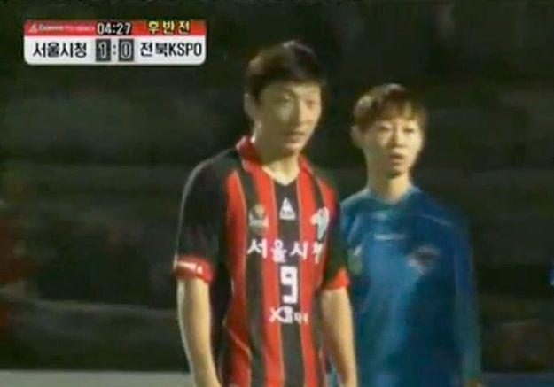 Une footballeuse doit prouver sa féminité en Corée du Sud