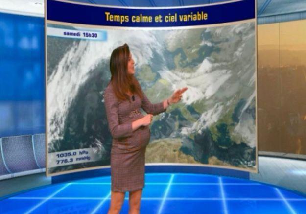Une présentatrice météo enceinte attaquée sur sa manière de s'habiller : on croit rêver !