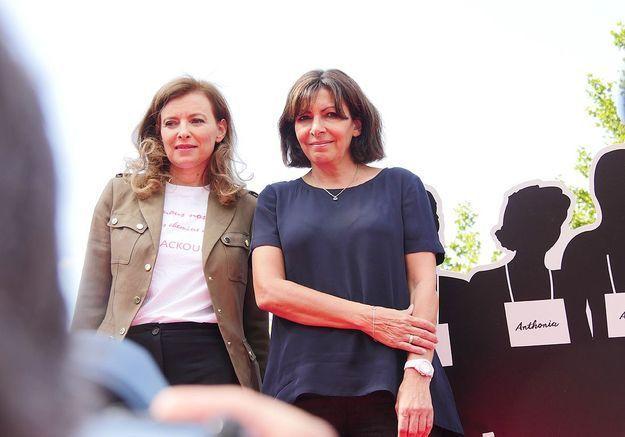 Le combat de Valérie Trierweiler et Anne Hidalgo pour les lycéennes enlevées par Boko Haram