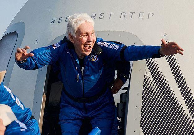 Vol de Blue Origin : oubliez Jeff Bezos, la véritable héroïne s'appelle Wally Funk