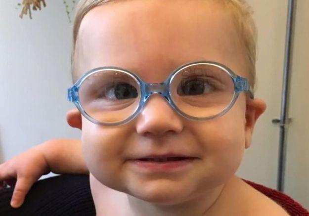 Un bébé voit pour la première fois à 7 mois : la vidéo qui va vous attendrir