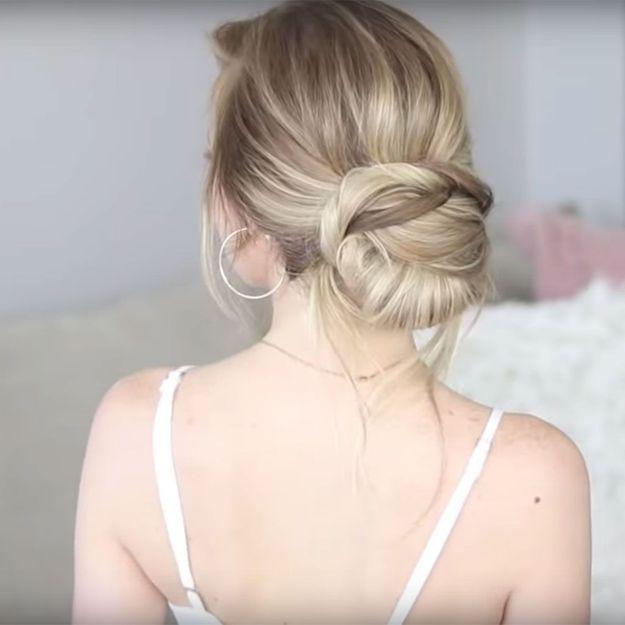 7 tutos coiffures pour un mariage