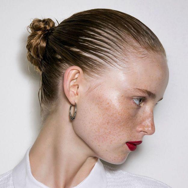 Comment Faire Un Chignon Sur Cheveux Courts Elle