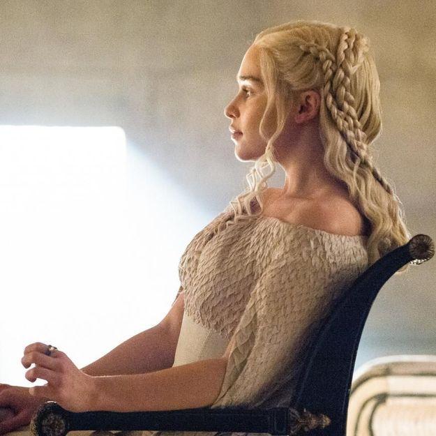 Pas si difficiles les coiffures de Daenerys dans « GOT » !