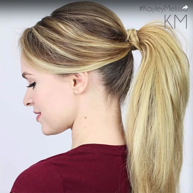 8 tutos coiffures pour les cheveux longs , Elle