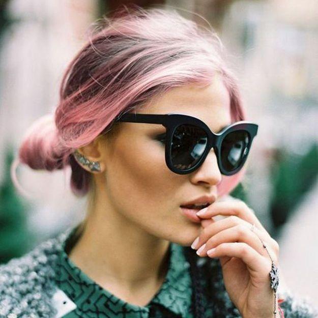 Cheveux Rose Tout Savoir Sur La Tendance De La Coloration Rose Elle