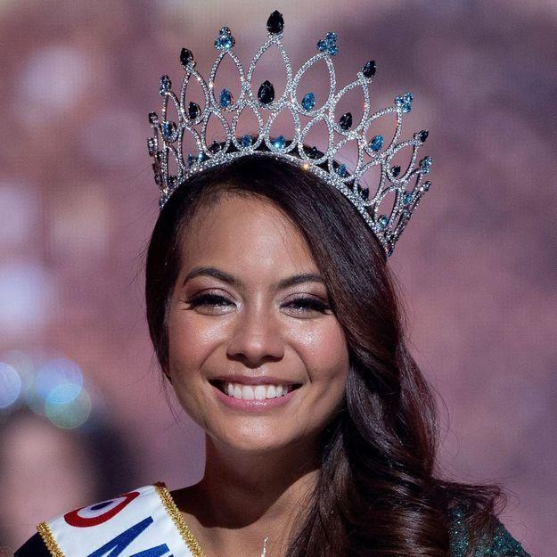 Avant / après : découvrez la transformation capillaire de Vaimalama Chaves, Miss France 2019