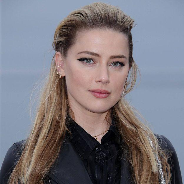 Avez-vous remarqué ce détail dans les cheveux d'Amber Heard ?