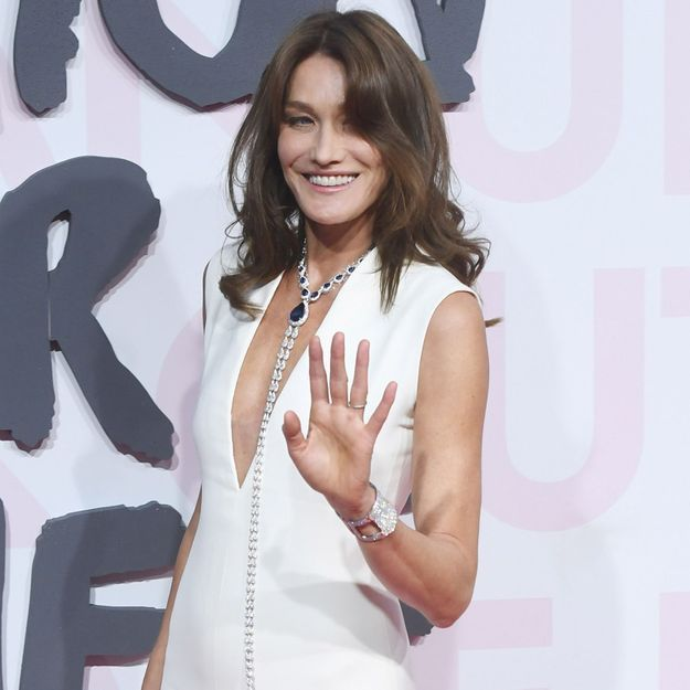 Carla Bruni : la sublime chevelure blonde de sa fille Giulia, la photo attendrissante