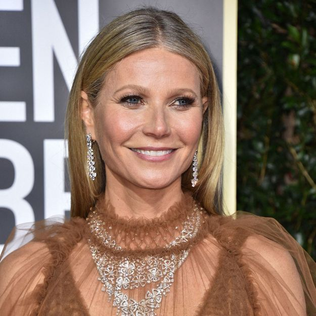Gwyneth Paltrow affiche ses premiers cheveux blancs aux Golden Globes