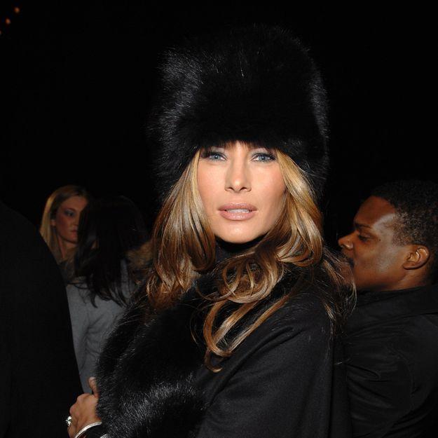 Melania Trump change encore de couleur de cheveux et cette fois c'est radical