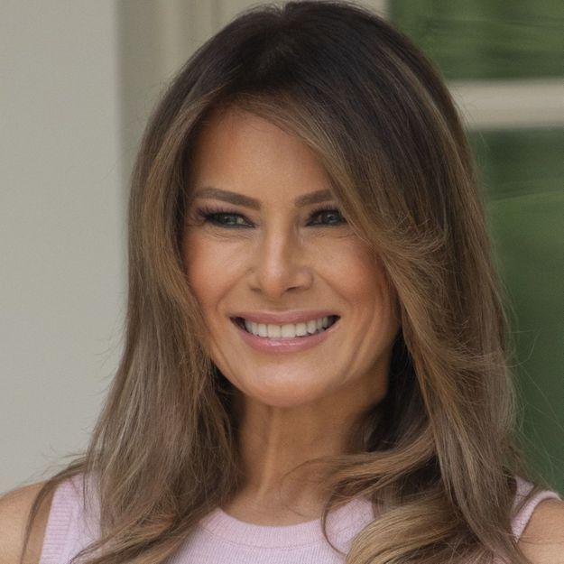 Melania Trump change radicalement de coiffure et confirme LA tendance 2019