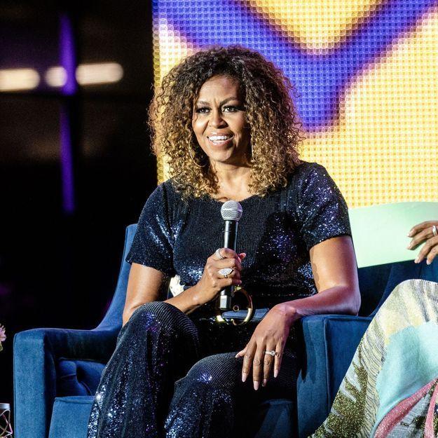 Michelle Obama affiche ses boucles et c'est canon !