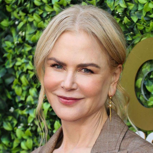 Nicole Kidman dévoile ses cheveux naturels pour la première fois depuis des années