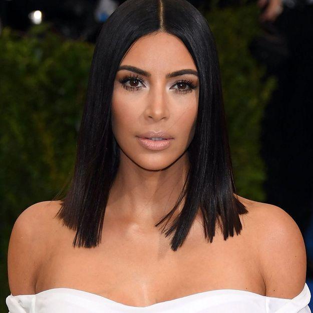 On connaît désormais l'astuce pour avoir les cheveux soyeux de Kim Kardashian