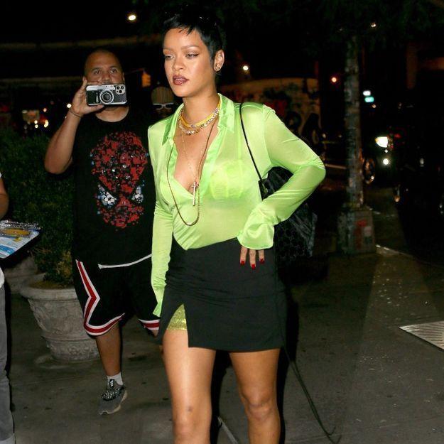 Rihanna invente une nouvelle coupe de cheveux sur Instagram