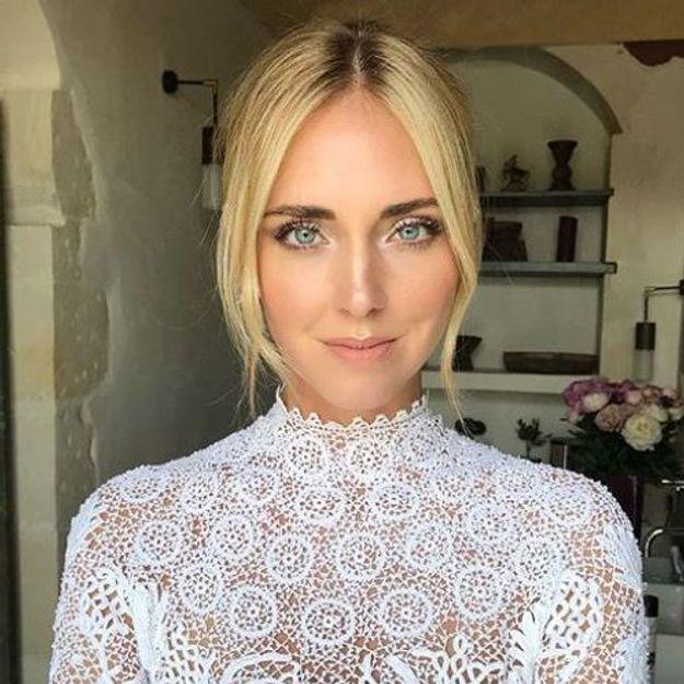 Chiara Ferragni : on connaît les détails de son maquillage de mariée - Elle