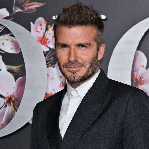 David Beckham méconnaissable et plus sexy que jamais