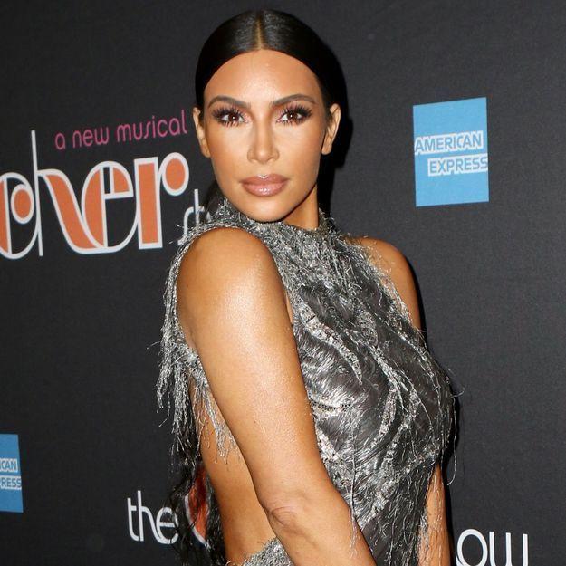 Kim Kardashian ne quitte jamais son maquillage même pour dormir