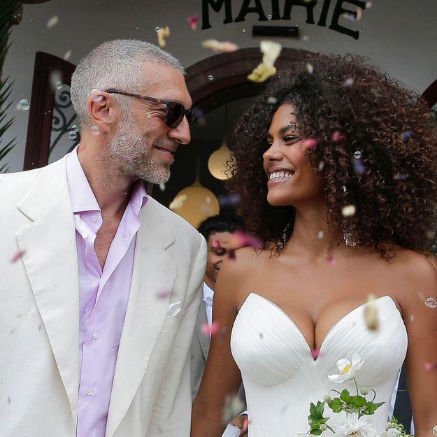 Tina Kunakey : on connaît tous les secrets de son maquillage de mariée