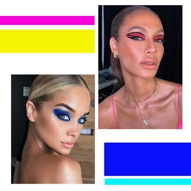 Comme les stars, allez-vous oser le maquillage néon ?