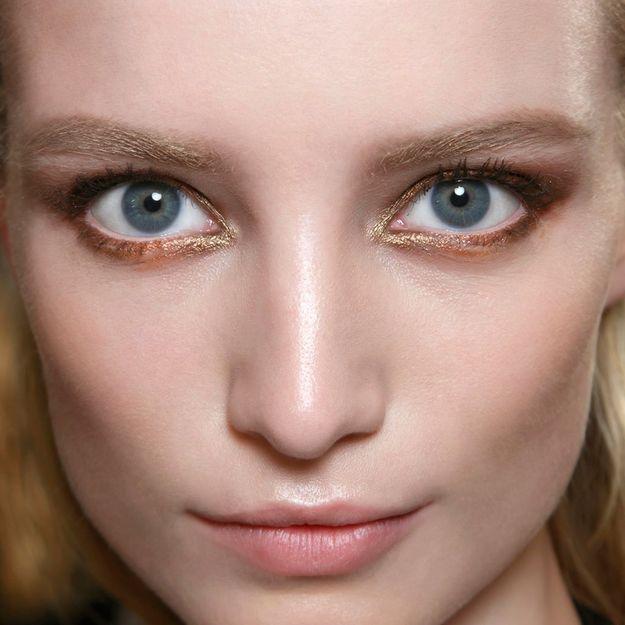 Tendance maquillage : les paupières cuivrées
