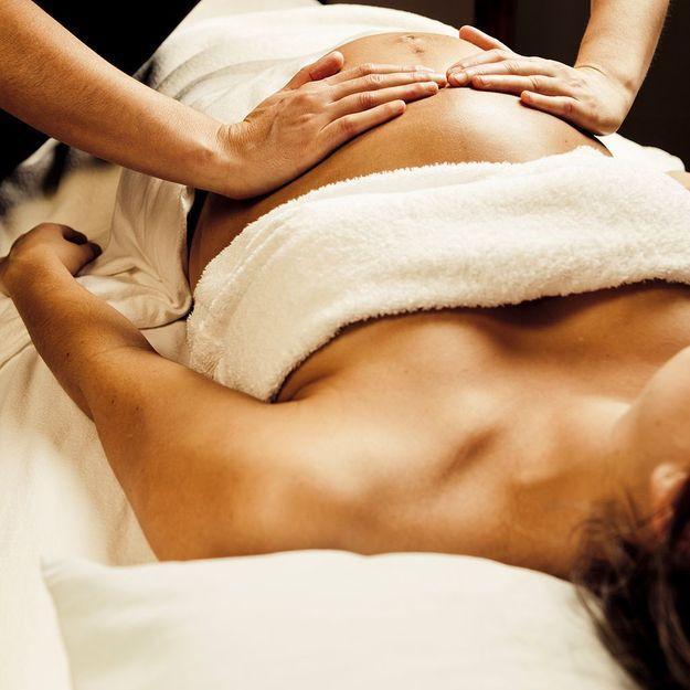5 massages pour femmes enceintes