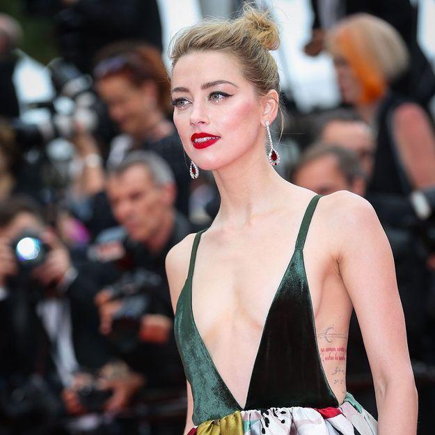 Amber Heard : son astuce géniale pour illuminer le regard