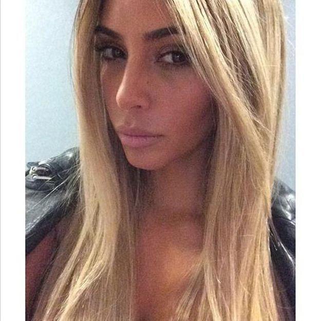 Brune ou blonde ? Kim Kardashian aurait-elle enfin tranché ?
