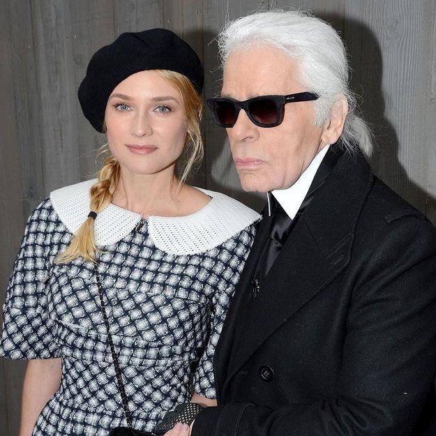 Diane Kruger, nouvelle égérie Chanel