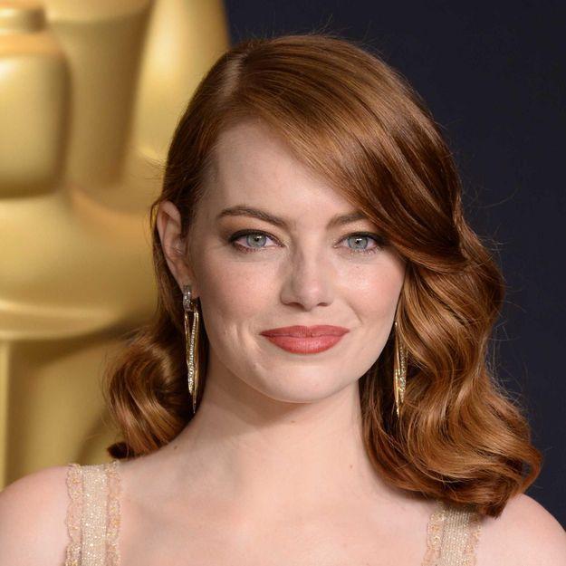 Emma Stone a changé de couleur de cheveux et on adore !
