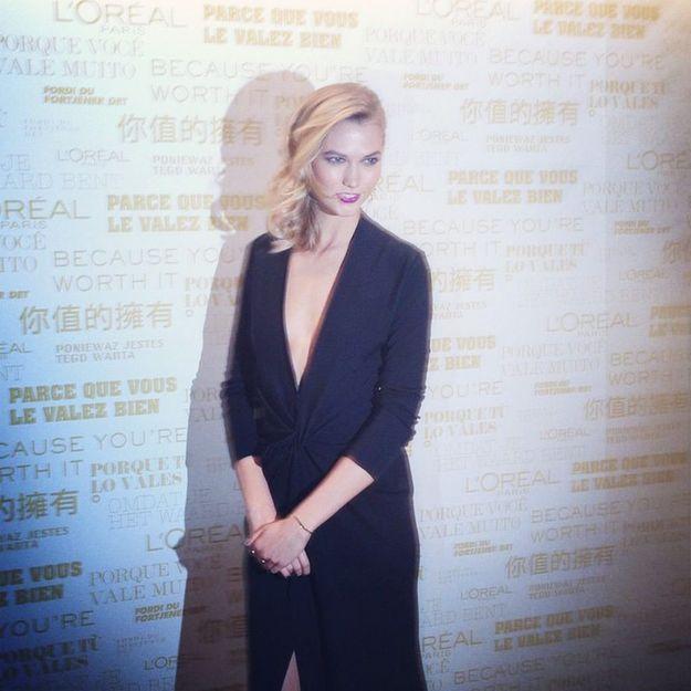 Karlie Kloss à Paris : notre belle rencontre avec l'égérie L'Oréal