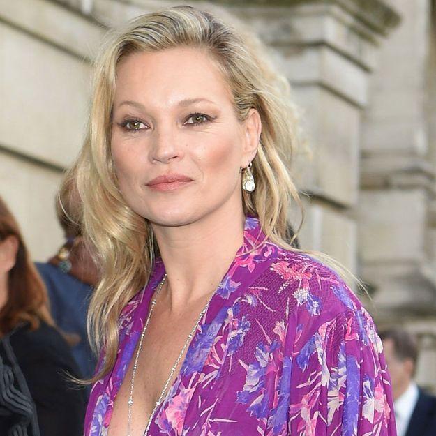 Kate Moss envoutante dans son nouveau rôle d'égérie parfum