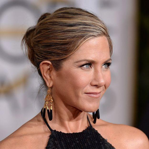 L\u0027histoire inavouable du chignon de Jennifer Aniston aux Golden Globes