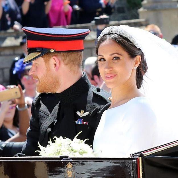 Mariage du prince Harry et Meghan : Meghan Markle ose le rouge à lèvres rose et c'est sublime