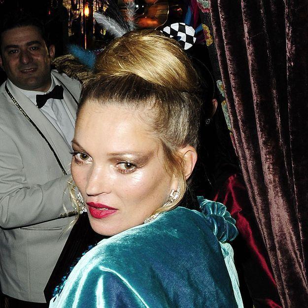 Pourquoi Kate Moss a-t-elle abusé des paillettes ?