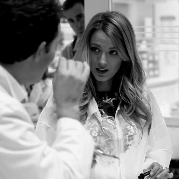 Suivez Blake Lively dans les coulisses de L'Oréal Paris